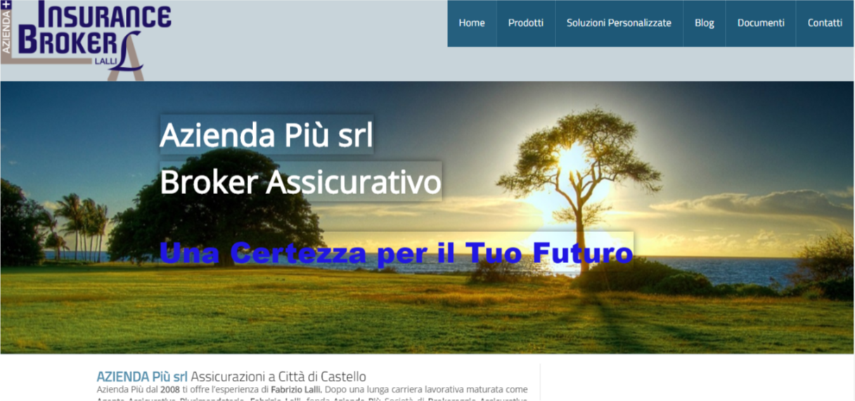 AziendaPiu - Portfolio