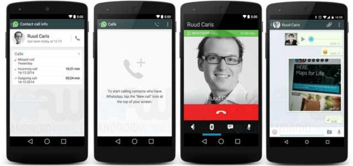 whatsapp chiamate vocali1 1200x565 - Videochiamate WhatsApp in tutto il mondo!
