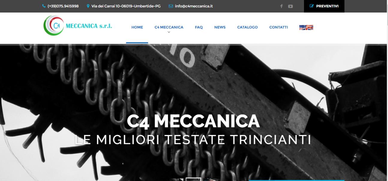 C4Meccanica - Portfolio