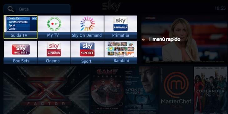 sky nuova homepage mysky dicembre2016 menu rapido1 729x365 - Sky On Demand in HD e nuova Home Page per My Sky HD