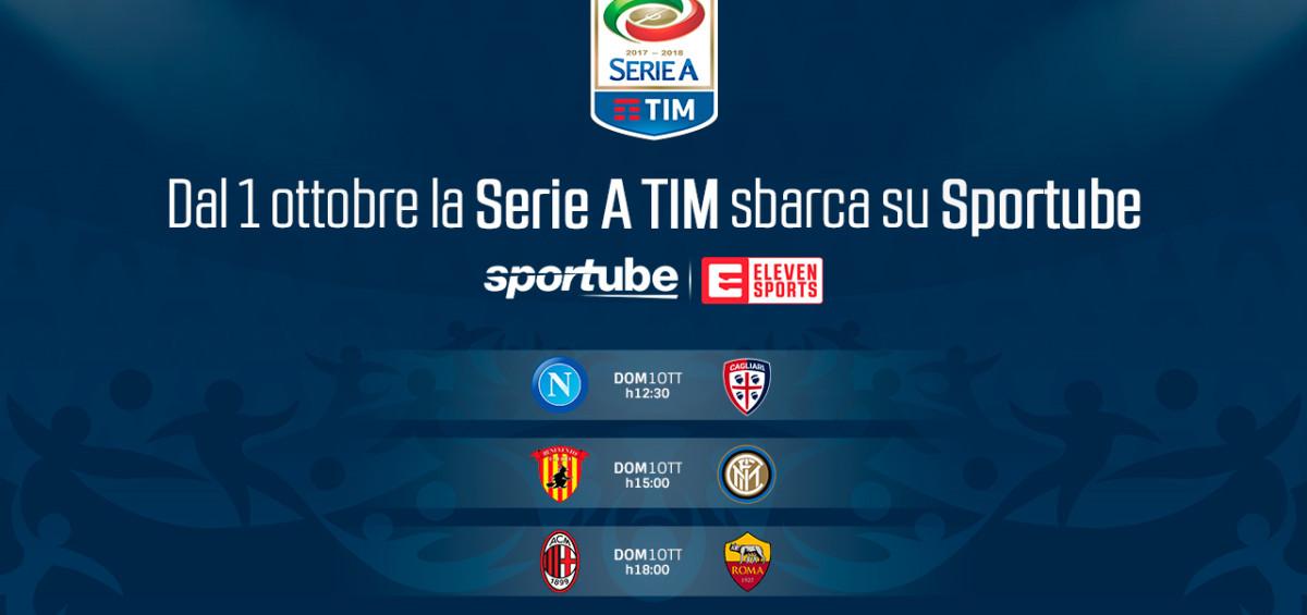 1506340611 seriea sportubeelevensports1 1200x565 - Dal 1°ottobre le partite di serie A in streaming su Sportube a 1,99€