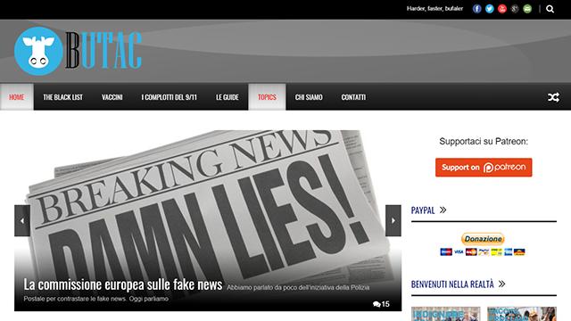 butac - Come fare per combattere le fake news con gli strumenti del web