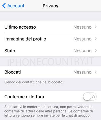 privacy whatsapp - Come diventare invisibili su WhatsApp