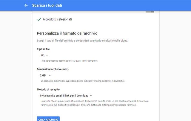 GoogleCosa Scaricare - Come esportare i dati di Google + prima che chiuda
