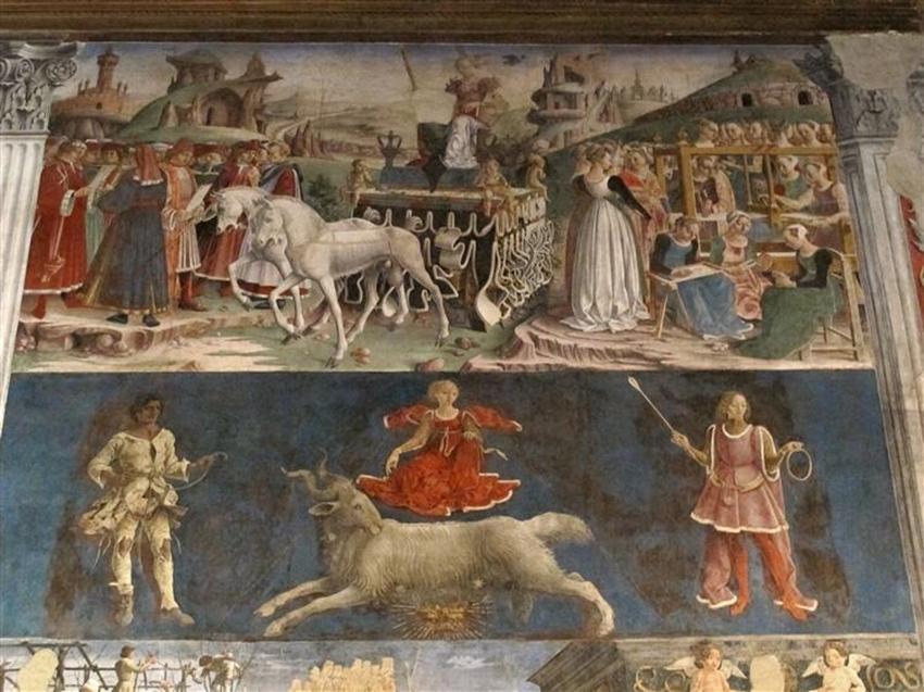"""affresco mesi schifanoia ferrara - """"I Medici"""": 15 location dove è stata girata la serie"""