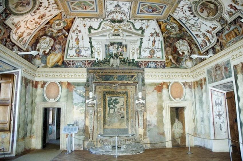 """sala fontana villa d este tivoli - """"I Medici"""": 15 location dove è stata girata la serie"""