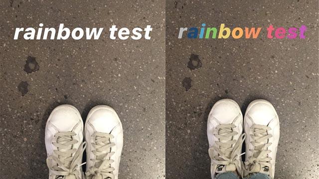 arcobaleno - Instagram, funzioni che non conosci