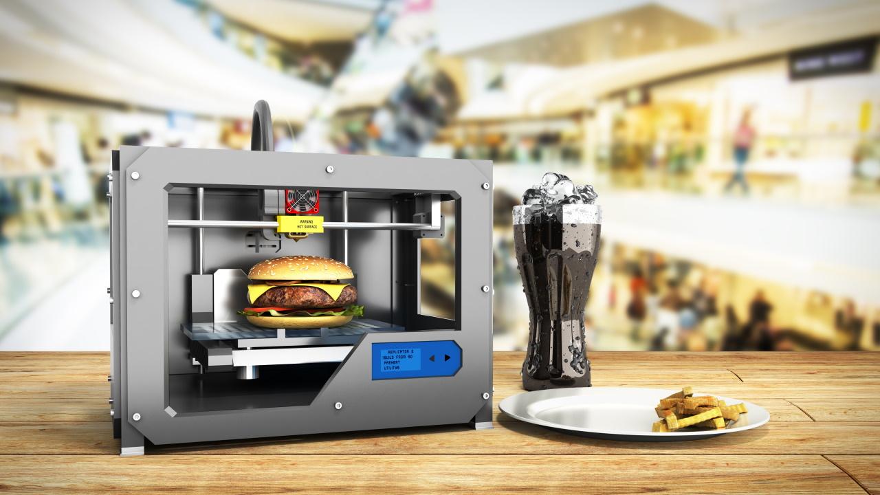 Stampa 3d Hamburger - Stampanti 3D per il cibo del futuro: come funzionano e cosa possono fare