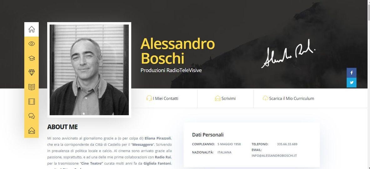 Alessandro Boschi - Portfolio